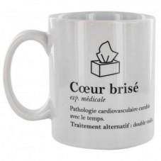 """Mug """" Coeur brisé """""""