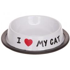 "Gamelle "" I love my cat """