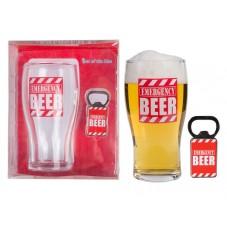"""Verre à bière """"Emergency"""""""