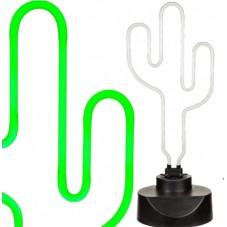 "Lampe "" Néon cactus """