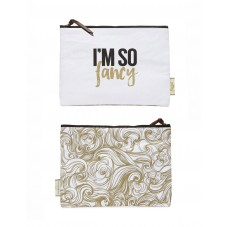 "Pochette zippée "" I'm so fancy """