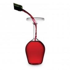 Verre de vin à l'envers