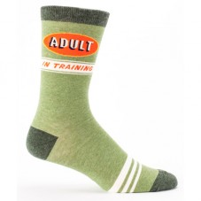 "Chaussettes homme "" Adult in training """
