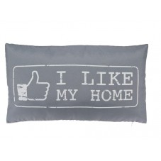 "Coussin "" I like my home """