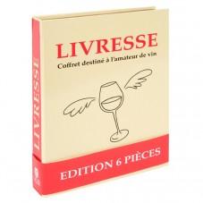 """Coffret accessoires de vin """" L'ivresse """""""