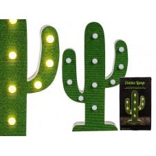 """Lampe en bois """" Cactus """""""