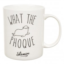 "Mug "" What the Phoque """