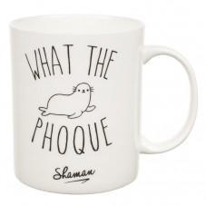 """Mug """" What the Phoque """""""
