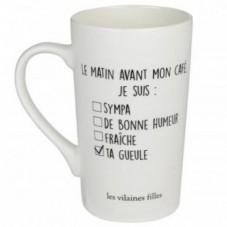 """Mug haut """" Ta gueule """""""
