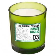 "Bougie parfumée "" Tomate basilic """