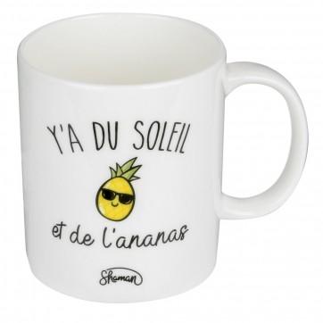 """Mug """" Y'a du soleil """""""