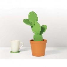 """Dessous de verres """" Cactus """""""