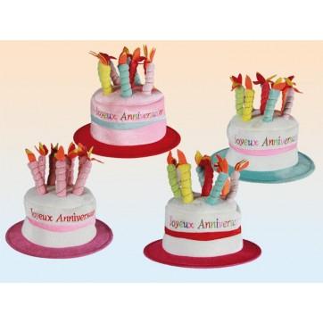 """Chapeau """" Joyeux anniversaire """""""