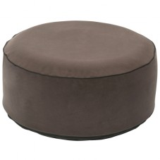 "Pouf gonflable velours "" Gris """