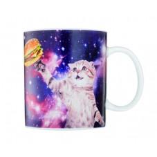 "Mug "" Chat dans l'espace """