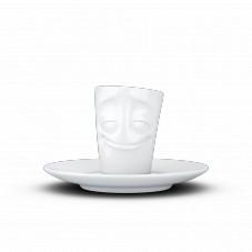 "Mug espresso "" Visage humeur joyeux """