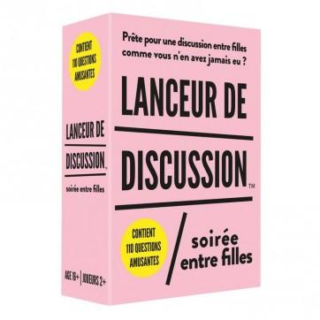 """Jeu lanceur de discussion """" Soirée entre filles """""""