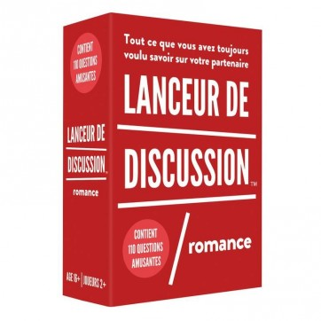 "Jeu lanceur de discussion "" Romance """