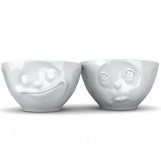 Moyens bols visage x2
