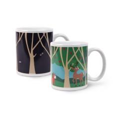 "Mug thermoréactif ""forêt"""
