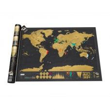 Carte du monde à gratter, Deluxe édition