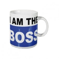 "Mug "" I am the Boss """