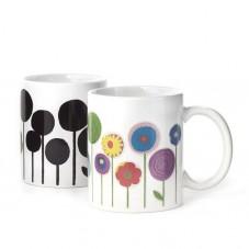 """Mug thermoréactif """"Fleurs"""""""