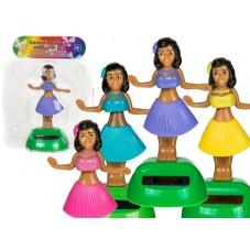 Figurine solaire Hula girl