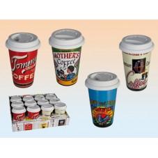 Mug Coffee avec couvercle en silicone