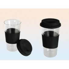 """Mug en verre """"Coffee to go"""""""
