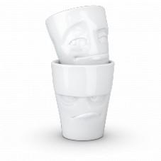 "Mug visage ""Humeurs"" x2"