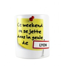 "Mug ""Weekend à Lyon"""