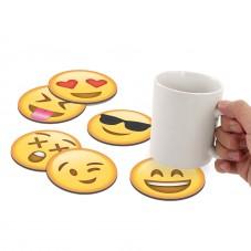 "Sous verres ""Emojis"""
