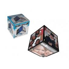 Cadre photo cube rotatif, petit modèle