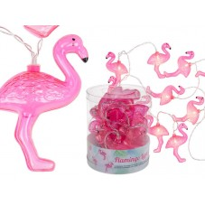 Guirlande lumineuse LED Flamants roses