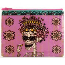 "Pochette zippée "" Day of the dead """