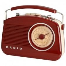 Radio rétro bluetooth bois